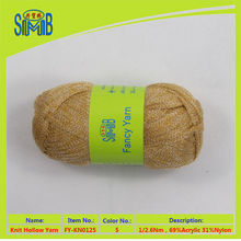 shanghai smb knitting fancy yarn manufacturer hot sales oeko tex quality popular best selling raffia tube fancy yarn for sweater