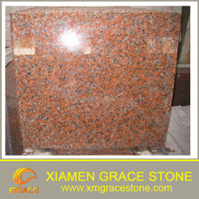 outdoor red granite tile G562 Chinese mapple red cheap for sale