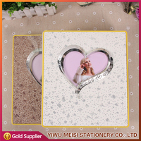 Wholesale Plastic Cover Latest Wedding Stick Photo Album for Lovers