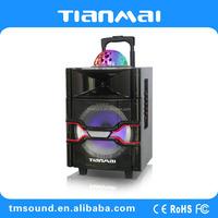 30w Li-ion Battery Factory Supply Musical cube Trolley Speaker (A-10W)