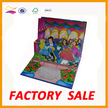 Paper Board 3D Children Book Printing Stereo/Pop Up Book Printing