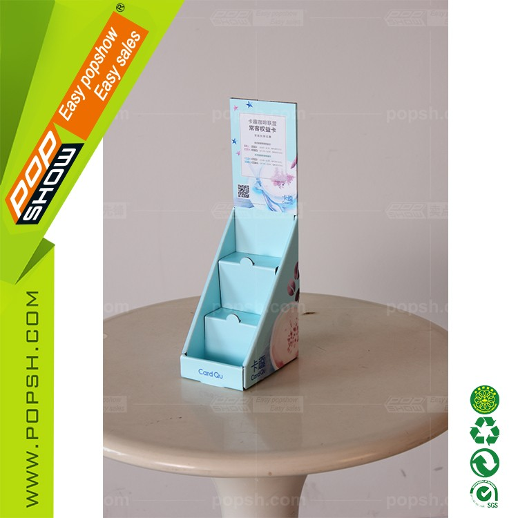 Low price Optional Business card cardboard display boxes