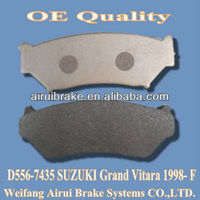 D556 SUZUKI low metal brake pads of Grand Vitara 1998- F