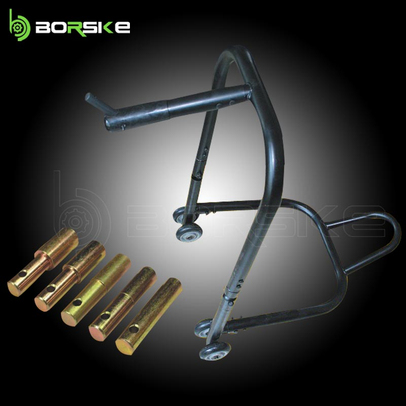 Motorcycle paddock stand and motorcycle side stand with material top quality Steel tube