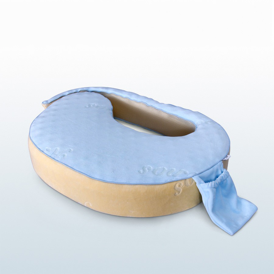 Nursing Pregnancy Feeding Pillow Breastfeeding Pillow Comfortable Printing 100% Cotton Baby Nursing Pillow