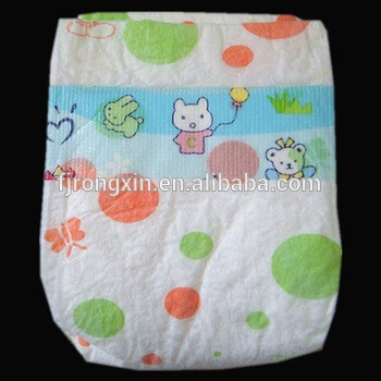 low price high quality elastic waistband disposable sleepy baby diaper manufacturer in China