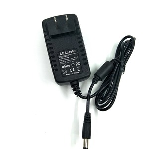 Wall Mount US Plug 12v 2a 24w Power Supply Adapter