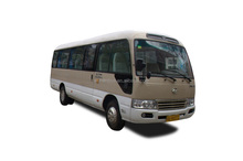 Classic diesel like Toyota coaster bus with good price