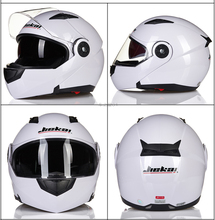 NEW JIEKAI 115 Flip Up Motorcycle Helmet Motorcross Motorbike Full Face Helmet With Inner Sun Visor Dot