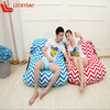 large bean bag chair fabric chaise lounge sofa two seat sofa daybed FAT 05