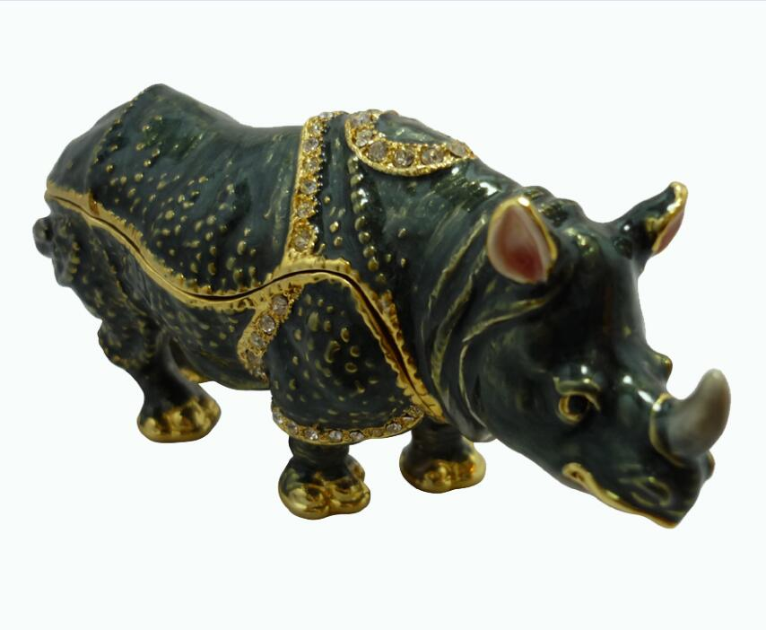 High - end European simulation yak crafts animal ornaments home garden gifts custom