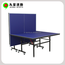 Removable Table Tennis Table For Exercise 15mm Folded Portable Indoor Pingpong Table