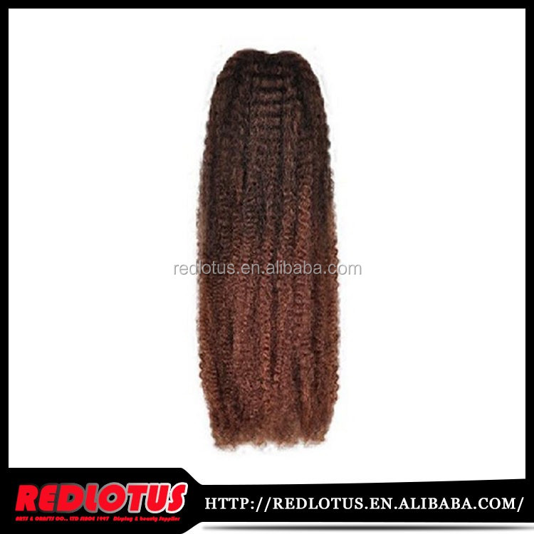 Different Color kinky twists hair