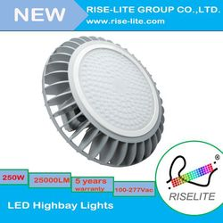 Rise lite -200W LVD RoHS UL DLC Approval Ufo Led High Bay Light With Nichia Chip