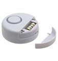 Ultra Slim Adjustable Button Cell Battery Powered Door Window Vibration Alarm 110DB