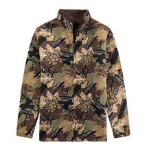 cheap made in china polar fleece winter camo hunting men jackets