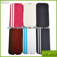 New flip leather case with stand for Sumsang Galaxy S4 I9500 with china manufacturer