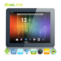 9.7 inch super slim 2GB 16GB 8000mah OEM tablet PC 5.0mp camera RK3188 quad core Retina android tablet s93b