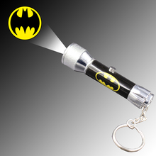 LOGO projector torch with 5 LED light - high quality brand LOGO projector flashlight keychain