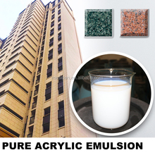 Pure acrylic polymer emulsion for waterbased varnish paint