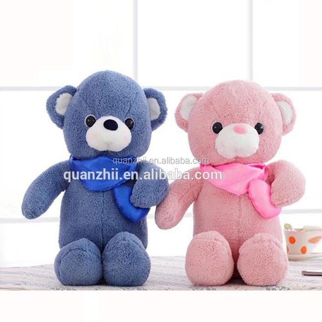 Soft and Plush Mini bear lovely small teddy bear with a ribbon