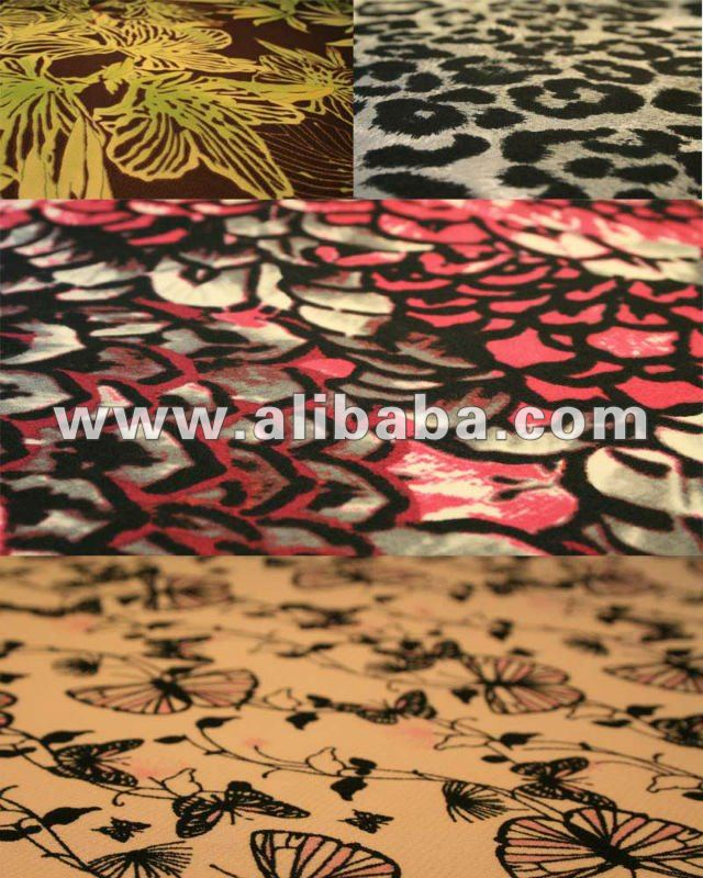 POLYESTER ITY SINGLE SPAN SCREEN PRINT FABRIC (MADE IN KOREA)
