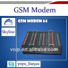 64 ports Gsm modem /bandluxe usb modem for bulk sms sending and receiving