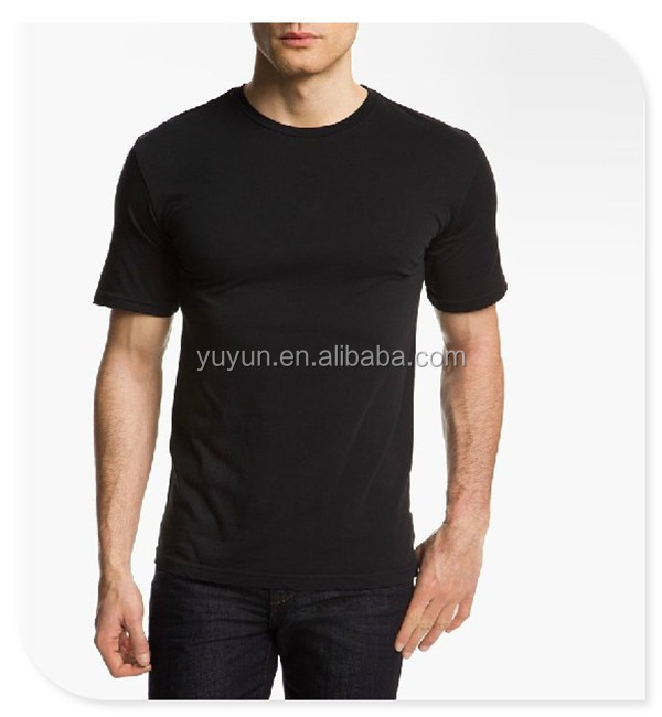 Men Black T Shirt 100 Cotton