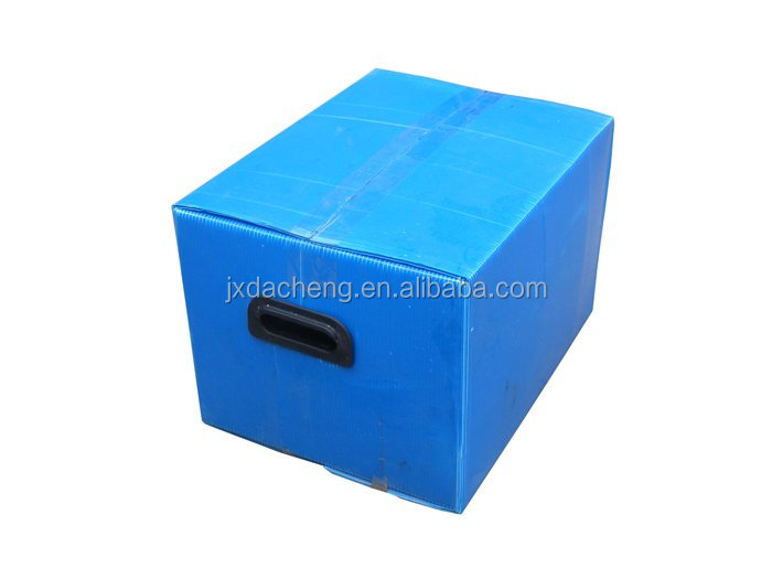 Folding pp plastic hollow box/case manufacture in China,used outer packaging box