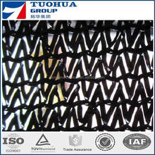 hot sale best price black color 100% virgin HDPE sun shade net /shade cloth /shade sail/safety net two needles