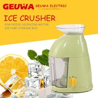slow 43w geuwa electric ice shaver ice crusher KD-898 for ice cube crushing