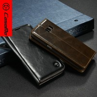 China Supplier Factory Leather Wallet Case for Samsung S7 for Galaxy S7 Flip Cell Phone Case Cover