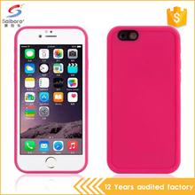 Heavy duty shockproof tpu+silicone for iphone 7 waterproof phone case
