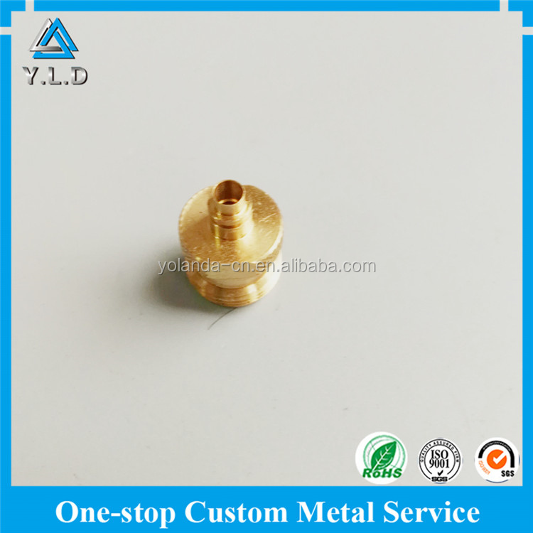 Quality And Quantity Assured Brass CNC Machining Gas Compressor Part At Reasonable Price
