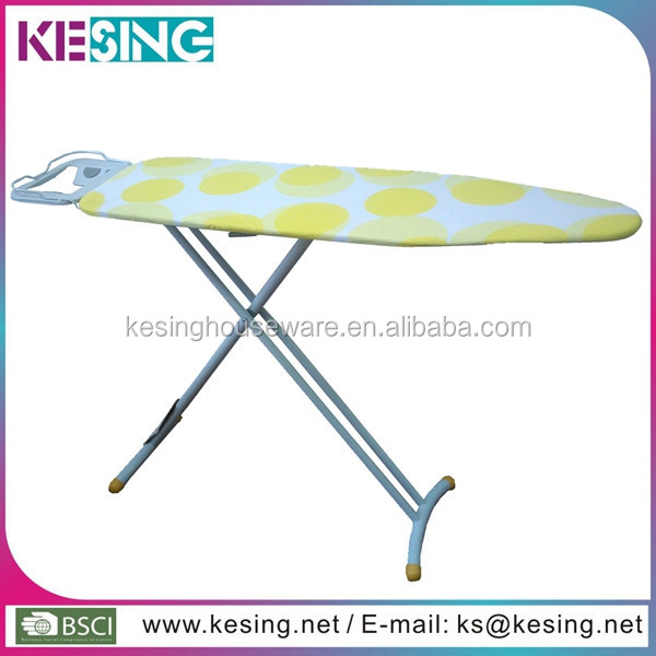 Houseware Mesh Top European Design Lounger Hotel Iron Foldable Iron Board
