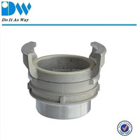 Aluminum Hose Couplings mate with latch