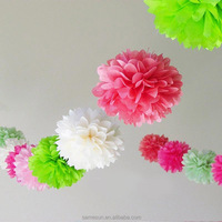 2016 new product paper flowers ball for wedding wall decorations