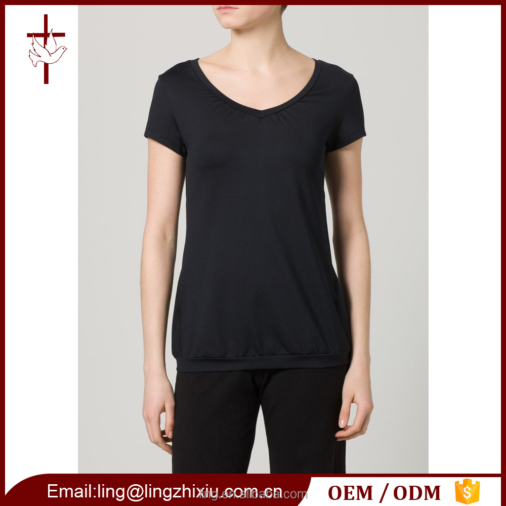 OEM Short Sleeve Sports Top Cheap Wholesale Workout Clothing