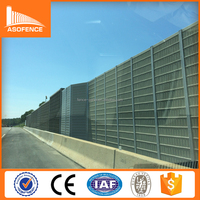 Perferated steel metal noise absorbing fence/Perforated metal sheets sound proof perforated metal