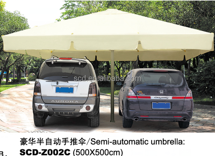 Big Sun Shelter Semi-automatic Beach Umbrella