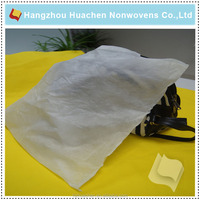 Nonwoven fabric bag for filler