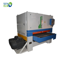 Double head wide belt woodworking automatic wood calibrating sanding machine price