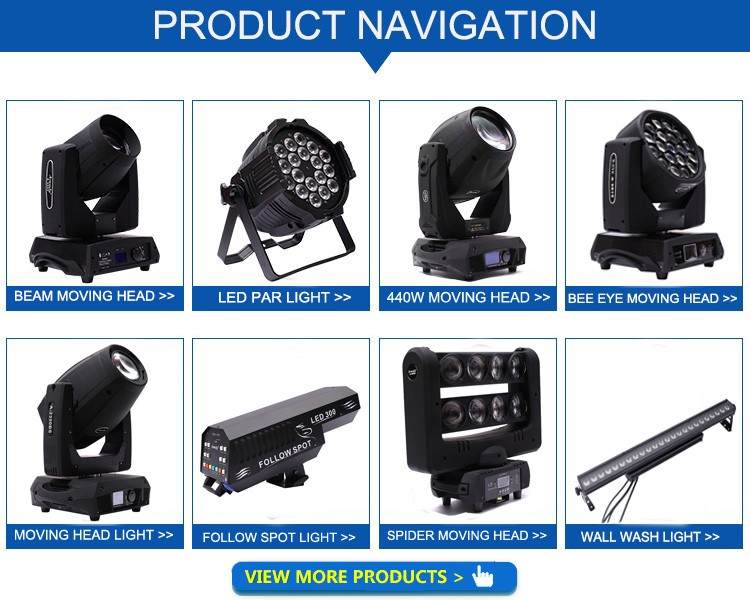 Factory price alibaba supplier stage light 100w led beam moving head spot wash light