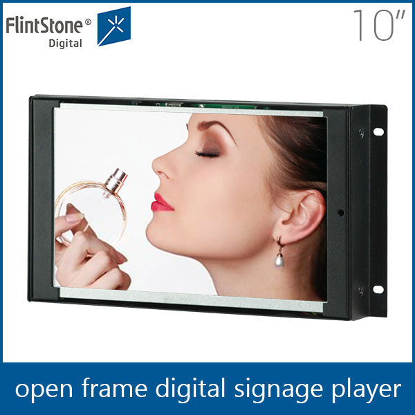flint stone Open frame lcd 10.1 inch advertising screen/watch lcd displays