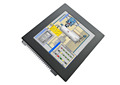 12 inch IP65 Wall Mount Aluminium Industrial Panel PC With Heat-resistant 5-wire resistive Touch Screen