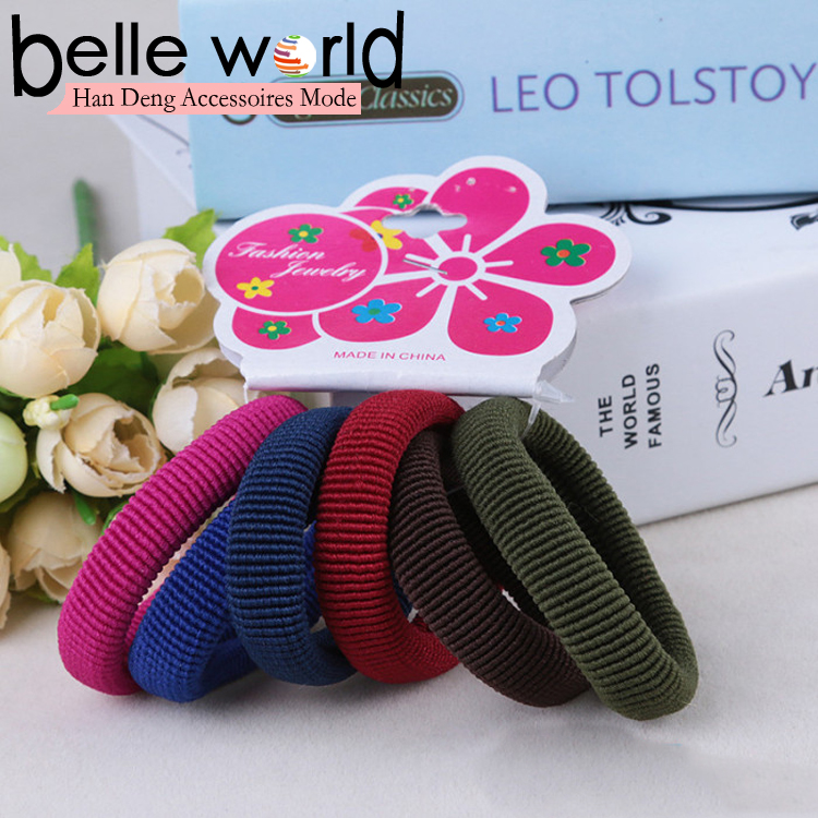 Fashion high quality girls elastic hair band rope
