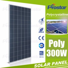 300w polycrystall solar panel price and 300 watt solar panel manufacturer in China
