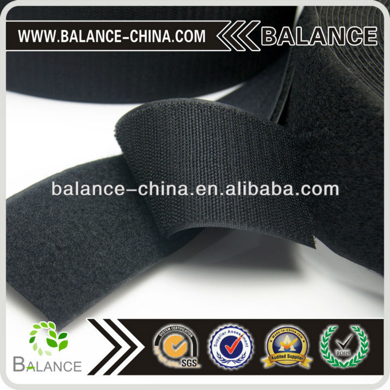 trade assurance colorful high quality fur hook and loop