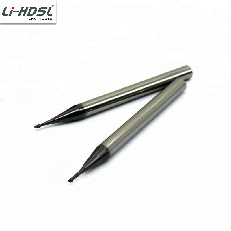 factory direct sell <strong>2</strong> flute carbide cutting tool square end mills diameter 1mm