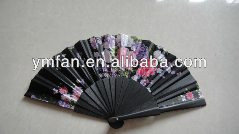 promotion wooden fan